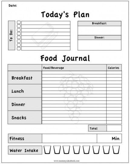 The Best Free Diet Journals Bariatric Surgery Source